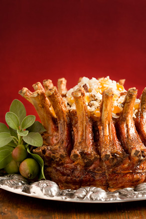 Pork Crown Roast with Stuffing Thumbnail
