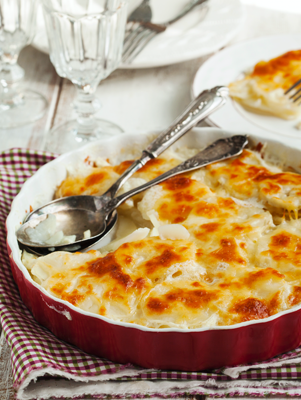 Potatoes au Gratin Thumbnail