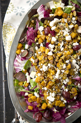 Fall Harvest Salad with Maple Vinaigrette Thumbnail