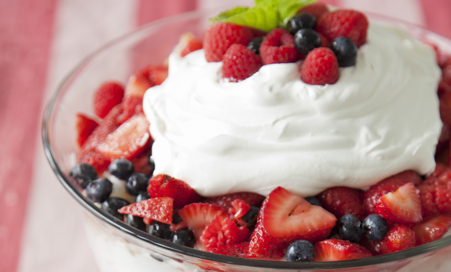 7 Sweet Red, White and Blue Desserts for July 4th