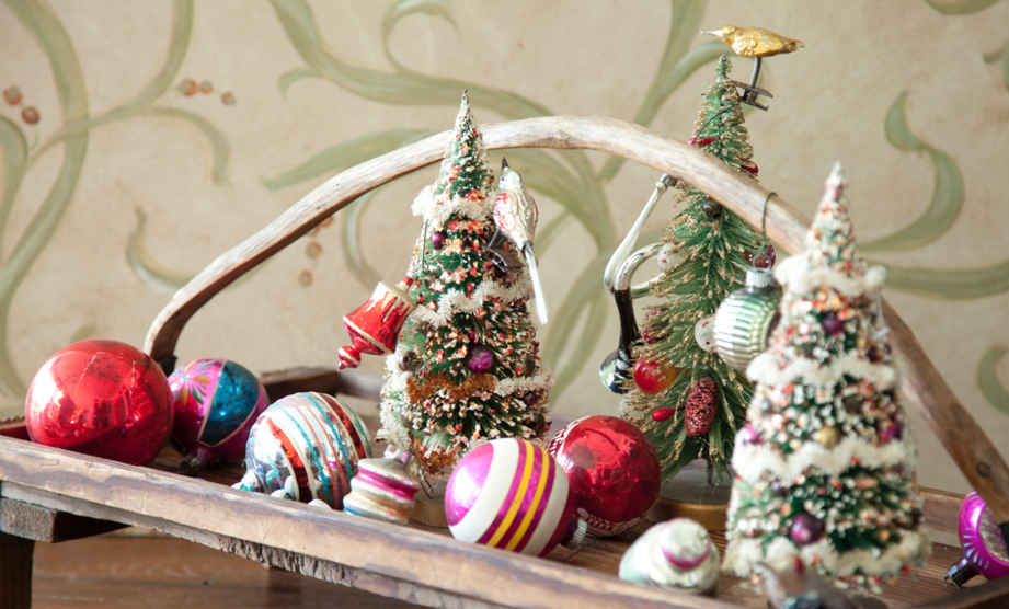 paulas vintage christmas ornaments