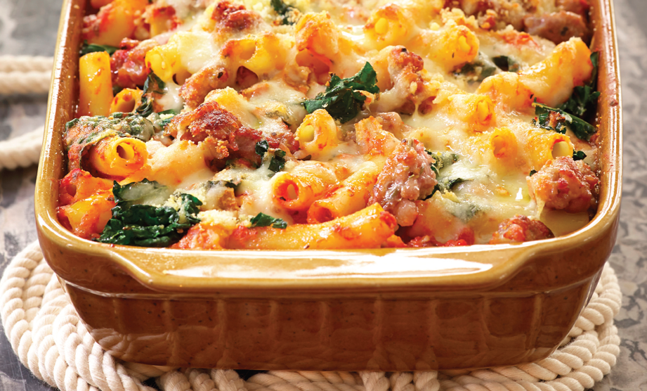 Paula Deen Cuts the Fat, 250 Favorite Recipes All Lightened Up, Exclusive: Baked Ziti