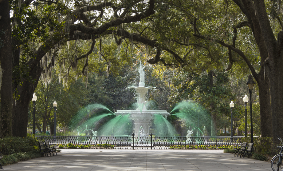 St. Patrick's Day in Savannah