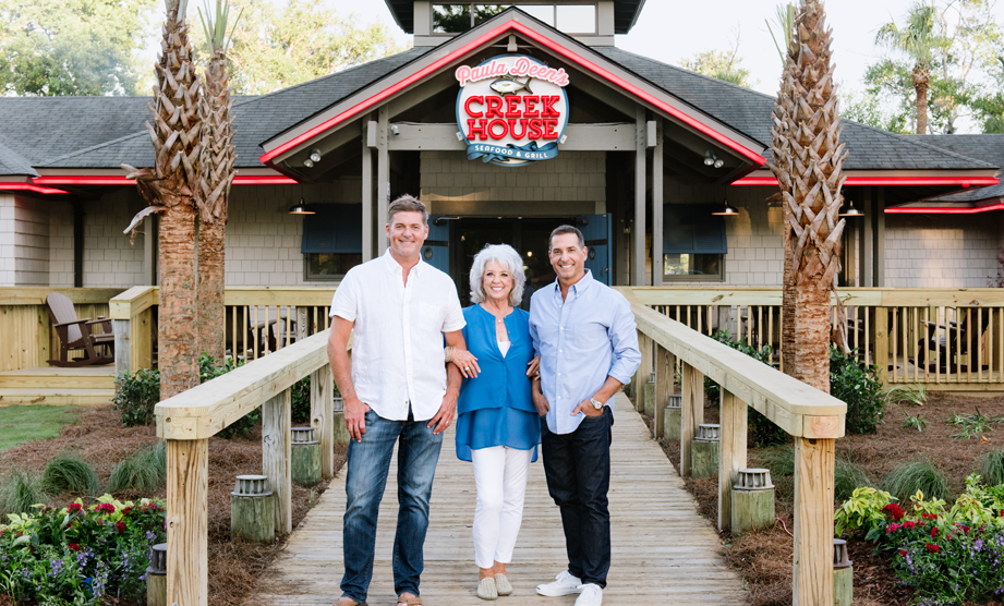 Welcome to Paula Deen's Creek House