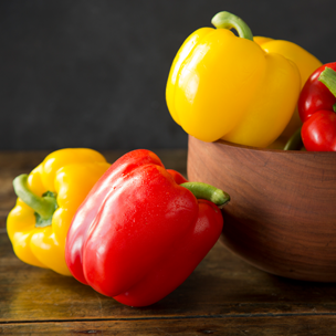 How-To: Roast Peppers Small