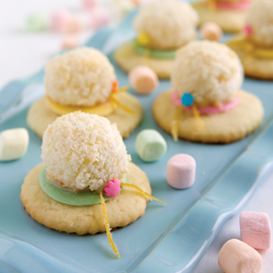 Easter Bonnet Cookies Small