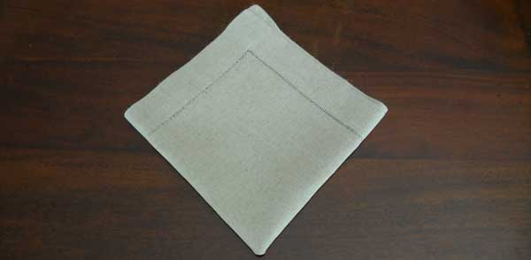 How to Fold Napkin Example 3