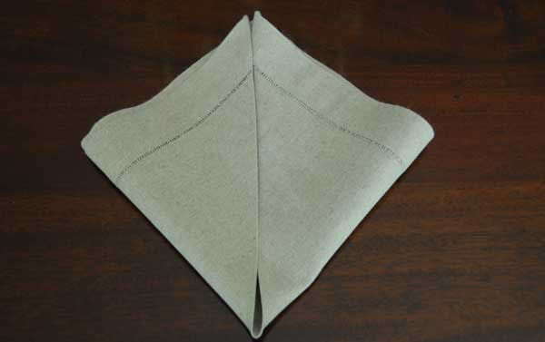 How to Fold Napkin Example 2