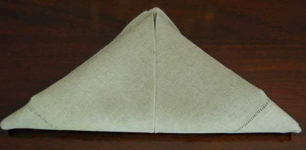How to Fold Napkin Example 4