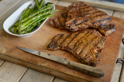 Grilled Spice-Rubbed T-Bone Steaks Thumbnail