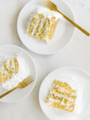 Coconut and Lemon Curd Cake Thumbnail