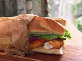 Buffalo Chicken Po Boys Thumbnail