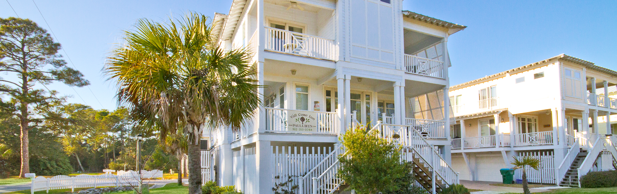 Paula Deen's Tybee Island Beach House Y'all Come Inn