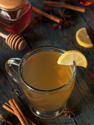 honey lemon cider