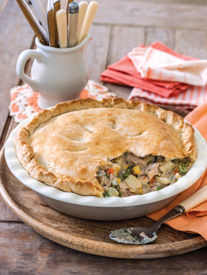 Homestyle Chicken Pot Pie Thumbnail