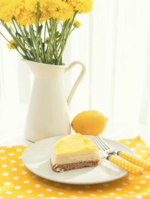 Joanne's Almost Fat-free Lemon Cheesecake Thumbnail