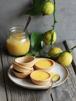 Tassie Cups With Lemon Curd filling Thumbnail