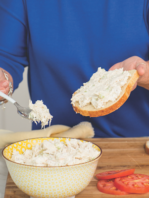 Paula's Chicken Salad Sandwiches Thumbnail