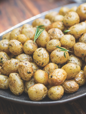 Roasted Herbed Potatoes Thumbnail