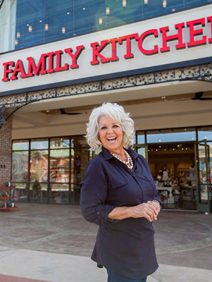 Paula Deen's Family Kitchen Book Signing