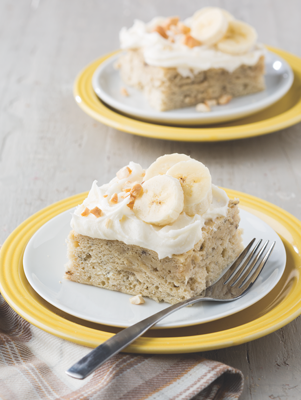Banana Cake with Creamy Frosting Thumbnail