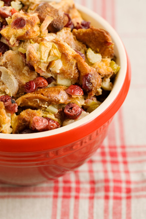 Apple Cranberry Stuffing Thumbnail