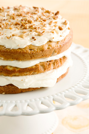 Banana Nut Cake With Cream Cheese Frosting Thumbnail