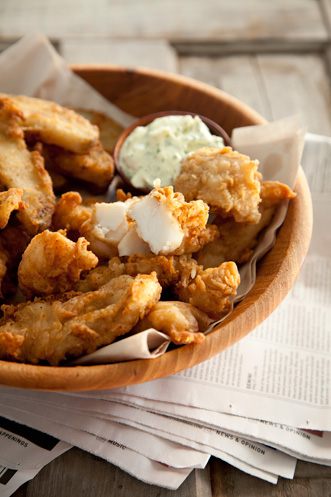 Beer Battered Fish and Chips Thumbnail