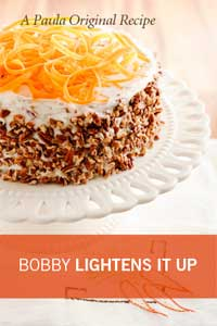 Bobby's Lighter Carrot Cake Thumbnail