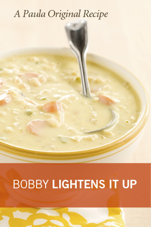 Bobby's Lighter Chef Jack's Corn Chowder Thumbnail