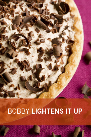 Bobby's Lighter Frozen Chocolate Mousse Pie Thumbnail