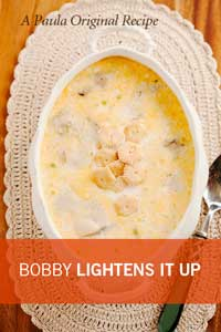 Bobby's Lighter Oyster Stew Thumbnail
