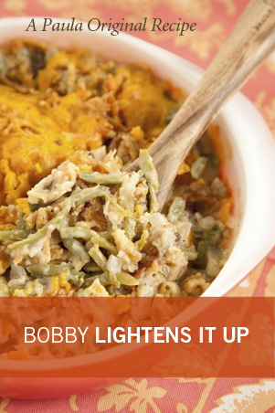 Bobby's Lighter Green Bean Casserole Thumbnail
