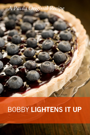 Bobby's Lighter Blueberry Tart Thumbnail
