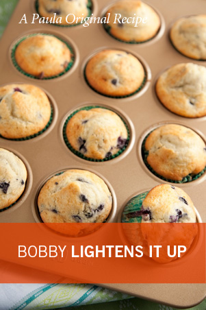 Lighter Blueberry Muffins Thumbnail