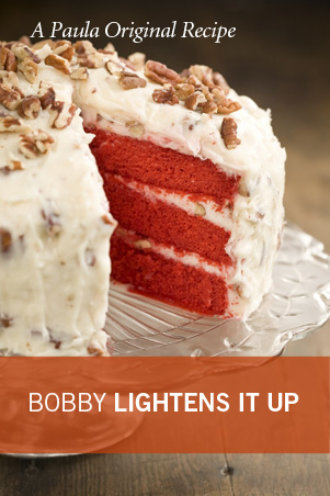 Lighter Red Velvet Cake Thumbnail