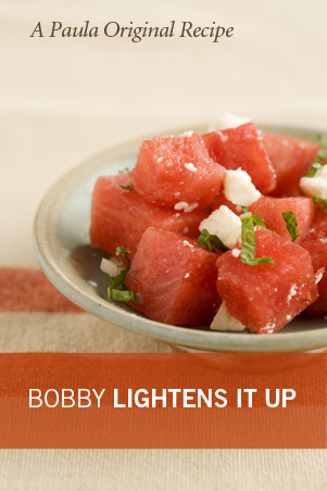 Lighter Watermelon Salad With Feta and Mint Thumbnail