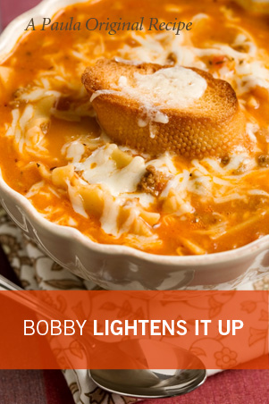 Bobby's Lighter Tastes Like Lasagna Soup Thumbnail