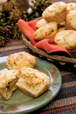 Cornmeal Breakfast Biscuits Thumbnail