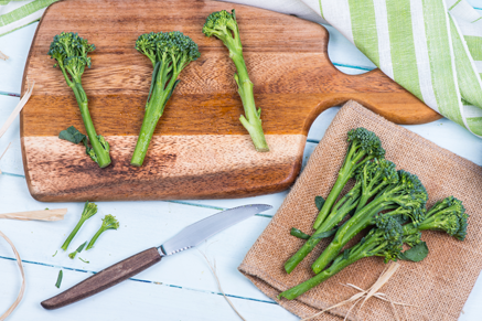 Broccolini with Almonds Thumbnail