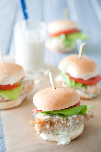 Buffalo Chicken Sliders Thumbnail