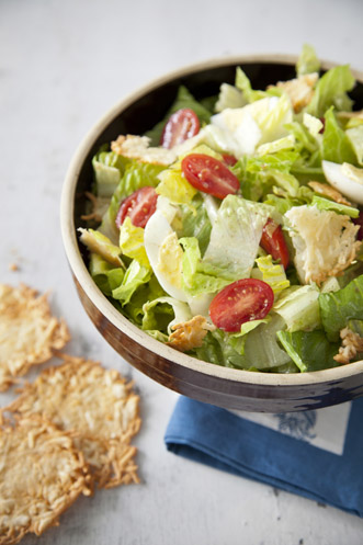 Caesar Salad with Parmesan Crisps Thumbnail