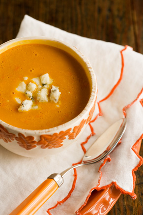 Carrot Soup With Blue Cheese Thumbnail