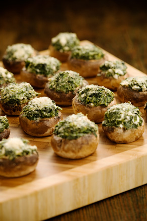Cheese Stuffed Mushrooms Thumbnail