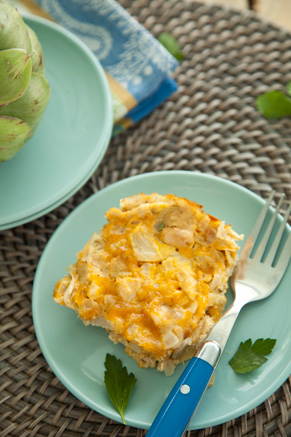 Chicken and Artichoke Frittata Thumbnail