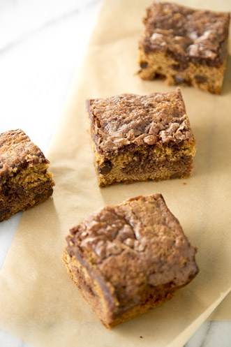 Chocolate Chip Brownie Bars Thumbnail