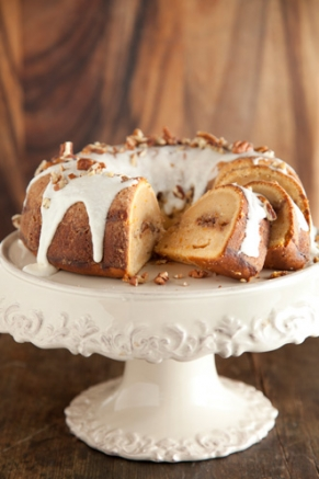 Lighter Cinnamon Ripple Sweet Potato Cake Thumbnail