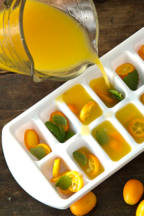 Citrusy Summer Ice Cubes Thumbnail