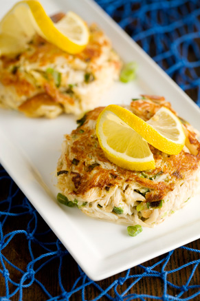 Lighter Crab Cakes Thumbnail