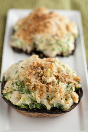 Snow Crab Stuffed Mushrooms Thumbnail